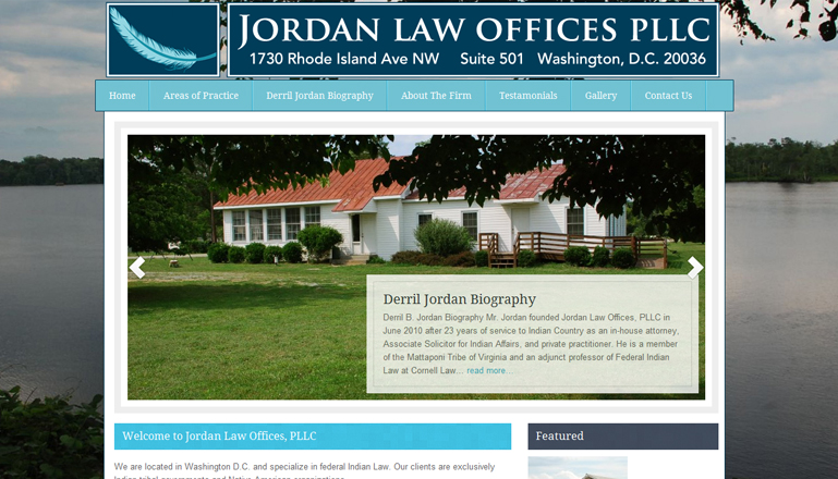 Jordan Law Offices PLLC::Native American and Tribal Gaming Law