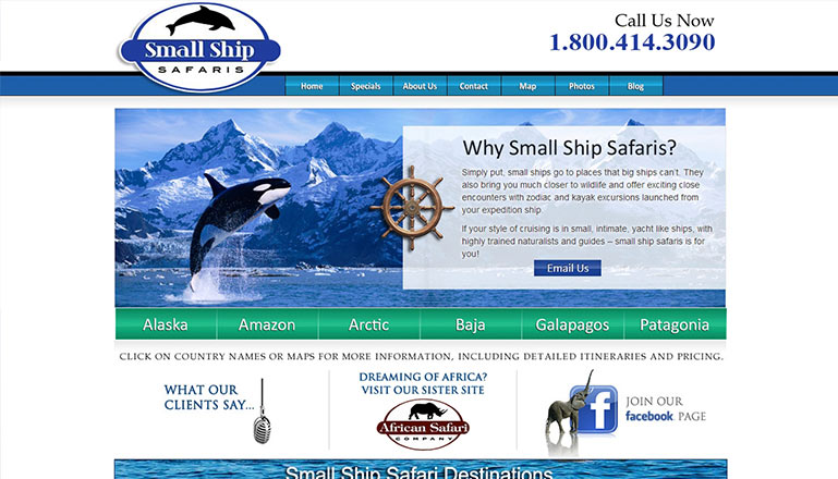 Small Ship Safaris::A Division Of African Safari Company