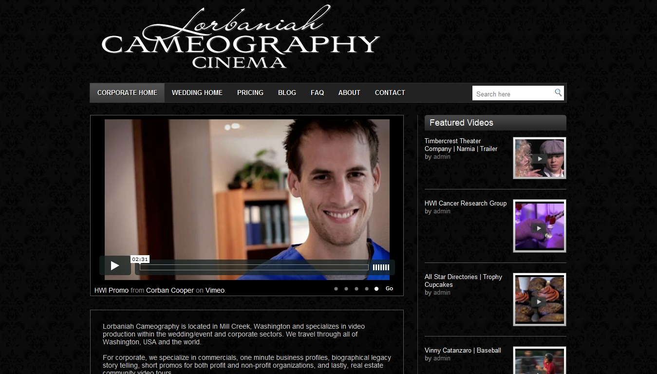 Lorbaniah Cameography::Videography and Video Production