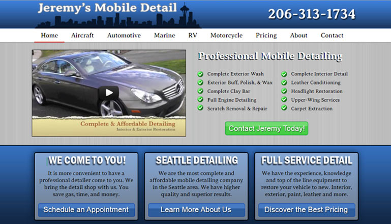 Mobile Detailing Northwest::Mobile Detailing Company