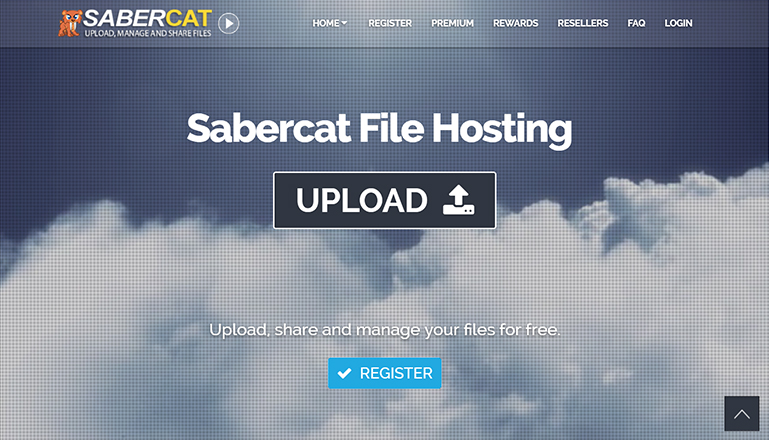 SaberCat Host::Advanced File Hosting With 5GB of Free File Storage